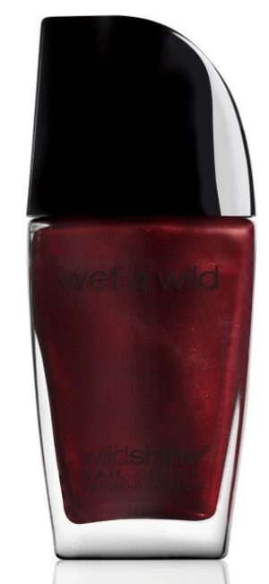 Βερνίκι νυχιών Wet n Wild Shine Nail Color 12.3ml - Burgundy Frost 486