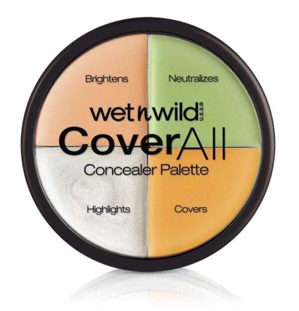 Παλέτα καμουφλάζ Wet n Wild Cover All Concealer Palette