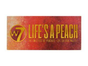 Παλέτα Σκιών W7 Life's A Peach Eyeshadow Palette