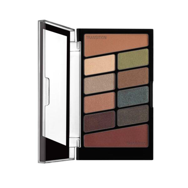 Σκιές ματιών Wet n Wild Color Icon 10 Pan Eyeshadow Palette 10g - Comfort Zone 759