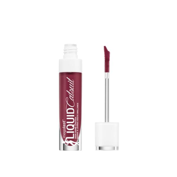 Υγρό κραγιόν Wet n Wild MegaLast Liquid Catsuit High-Shine Lipstick 5.7g - Wine is the answer 969