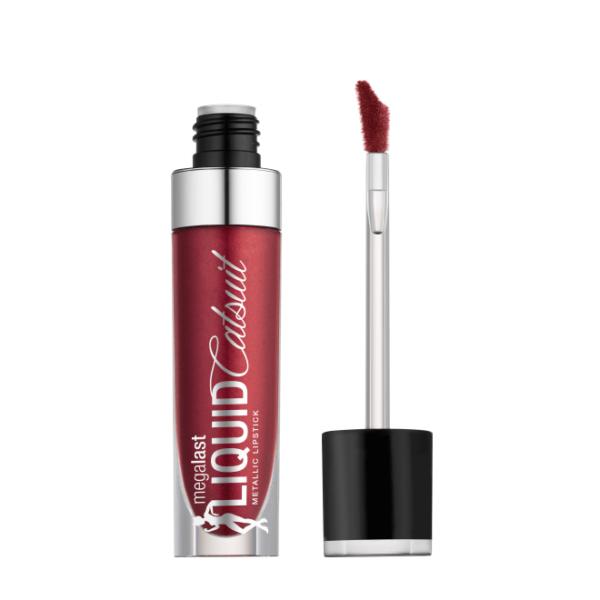 Υγρό κραγιόν Wet n Wild MegaLast Liquid Catsuit Metallic Lipstick 6g - Life's No Pink 962