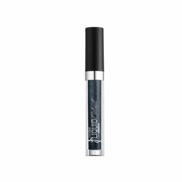 Υγρή σκιά ματιών Wet n Wild Megalast Liquid Catsuit Metallic Eyeshadow 3.5ml - Gun Metal 567