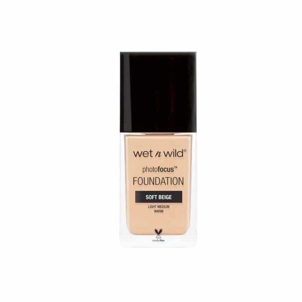 Wet n Wild Photo Focus Foundation 30ml - Nude Ivory 363