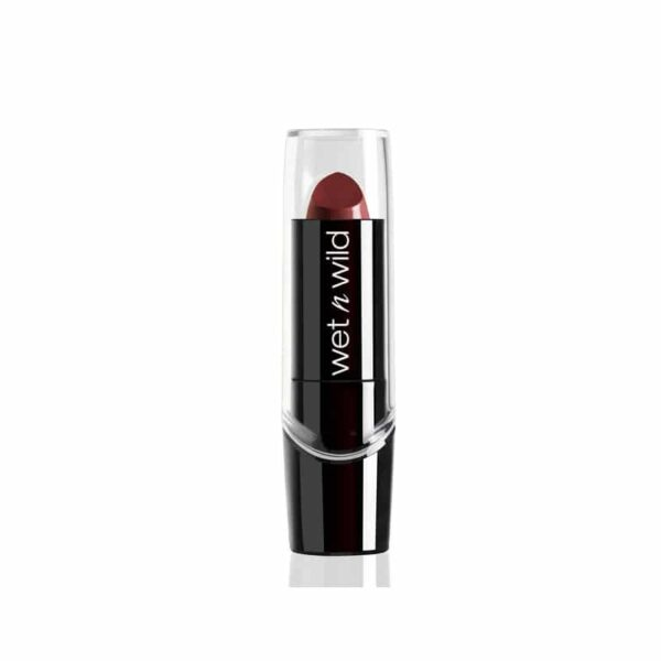 Κραγιόν σάτιν Wet n Wild Silk Finish Lipstick 3.6g - Dark Wine 536