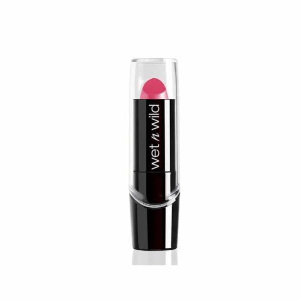 Κραγιόν σάτιν Wet n Wild Silk Finish Lipstick 3.6g - Pink Ice 504