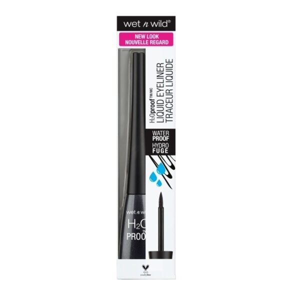 Wet n Wild H2O Proof Felt Tip Liquid Eyeliner 5ml - Black