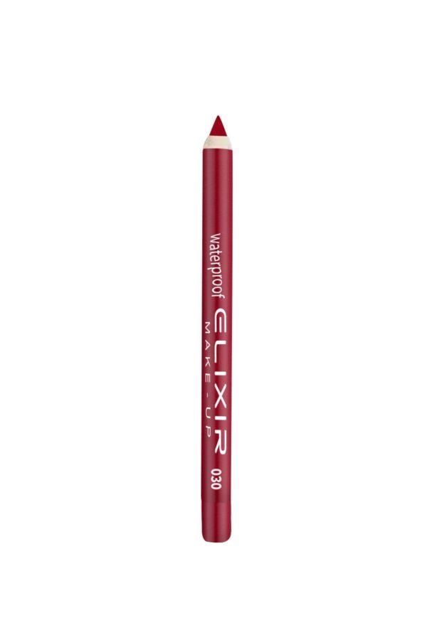 Αδιάβροχο μολύβι χειλιών Elixir 1.4g - True Red 030