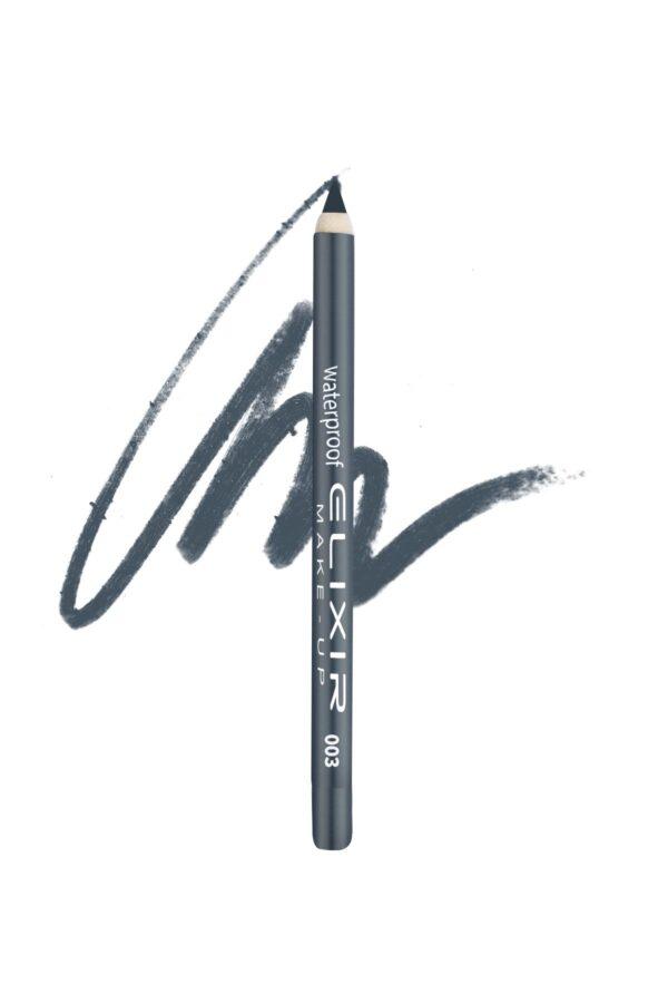 Αδιάβροχο μολύβι ματιών Elixir 1.4g - Iron 003