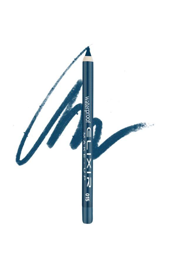 Αδιάβροχο μολύβι ματιών Elixir 1.4g - Navy Blue 015