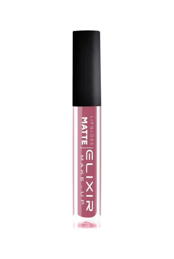 Υγρό κραγιόν Elixir Liquid Lip Matte - Bright Maroon 373