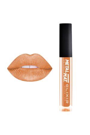 Υγρό κραγιόν Elixir Liquid Lip Metal Mat 10.2ml - Metallic Gold 427