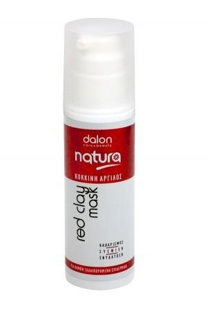 Dalon Natura Μάσκα Κόκκινης Αργίλου 150ml
