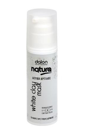 Dalon Natura Μάσκα Λευκής Αργίλου 150ml
