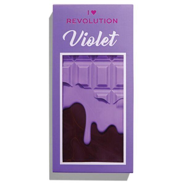 Παλέτα σκιών Revolution Beauty I Heart Revolution Violet Chocolate Palette