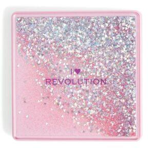Revolution Beauty I Heart One True Love Glitter Palette