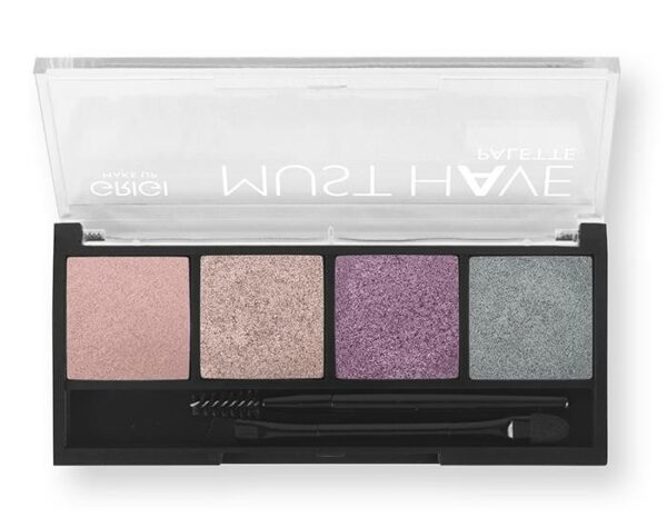 Παλέτα σκιών Grigi Must Have Palette - Pink Purple Metallic 07