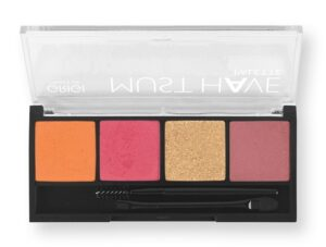 Παλέτα σκιών Grigi Must Have Palette - Pink Coral Metallic 11