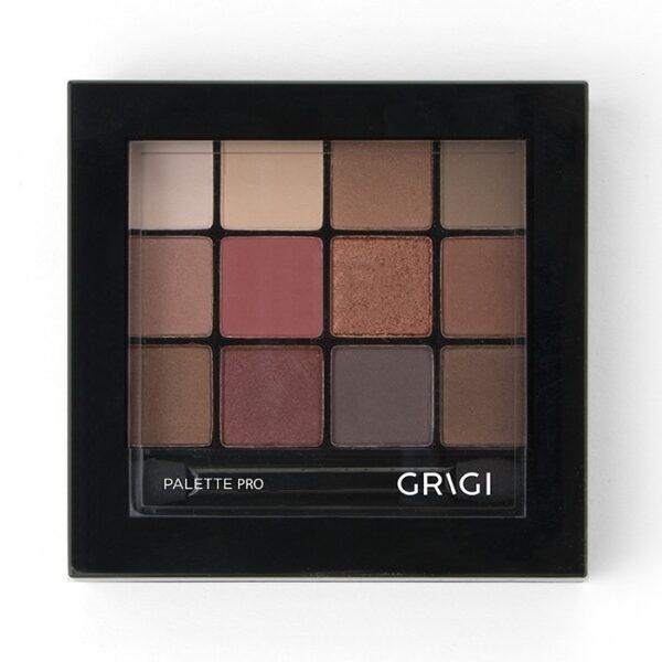 Παλέτα σκιών Grigi Pro Palette - Red 42