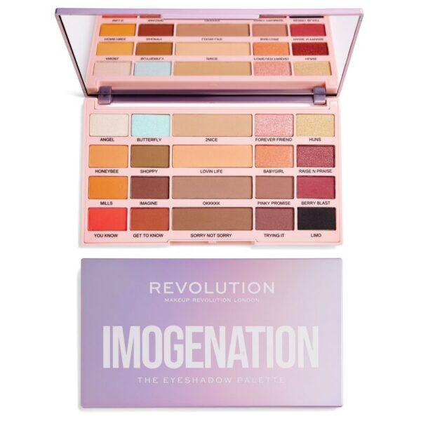 Παλέτα σκιών Revolution x Imogenation The Eyeshadow Palette