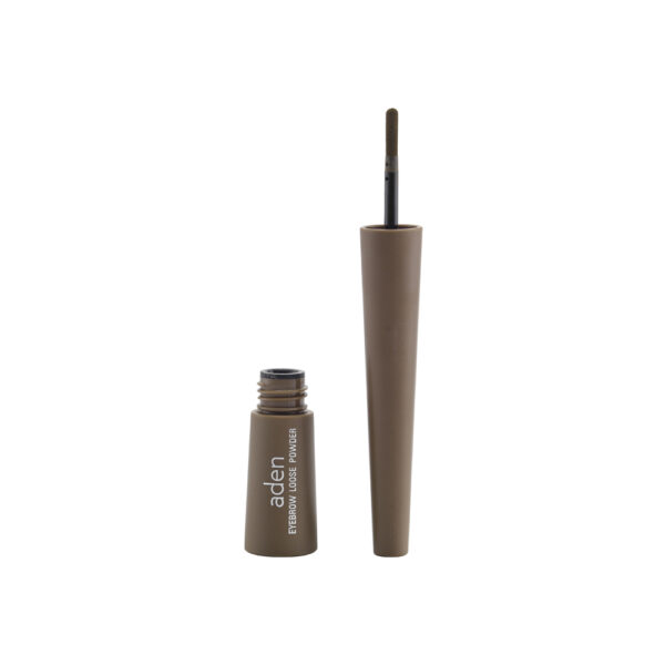 Πούδρα φρυδιών Aden Eyebrow Loose Powder 0,7g - Light Brown 01