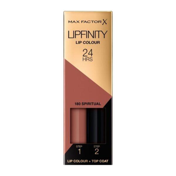 Υγρό κραγιόν Max Factor Lipfinity 24hours 2.3ml - Spiritual 180
