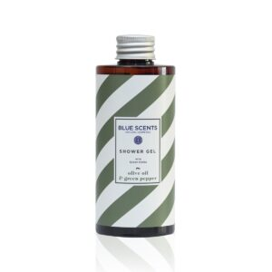 Αφρόλουτρο σώματος Blue Scents Olive Oil & Green Pepper 300ml