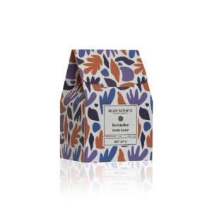 Σετ σαπουνιών Blue Scents Lavender 2τμχ.