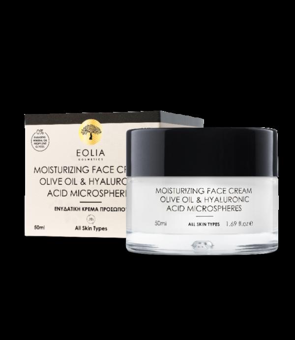 Ενυδατική κρέμα προσώπου Eolia Moisturizing Face Cream 50ml