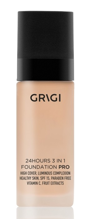 Grigi Pro 24h 3in1 Foundation - Porcelain 47