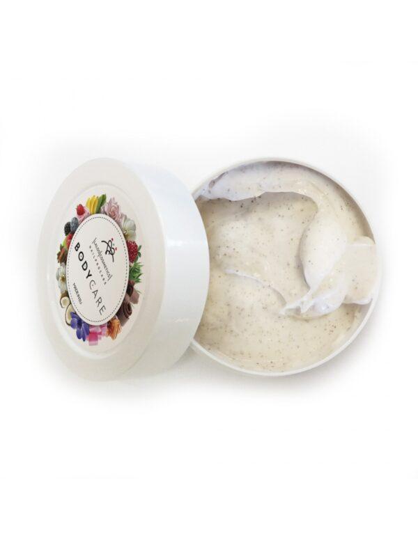 Κρέμα απολέπισης σώματος Laloo Cream Scrub Rose Petals 100ml