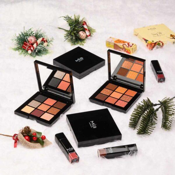 Παλέτα σκιών Mia Cosmetics Fairy Tale Eyeshadow Brownie Palette