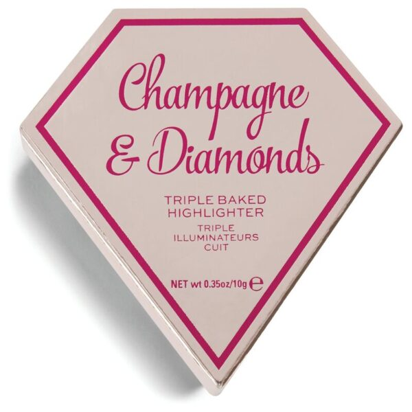 I Heart Revolution Diamond Highlighter - Champagne & Diamond