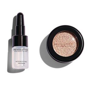 Σκιά ματιών Make up Revolution Flawless Foils 1.5g - Rebound