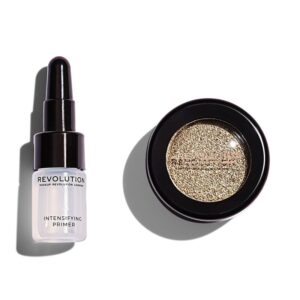 Σκιά ματιών Make up Revolution Flawless Foils 1.5g - Retreat
