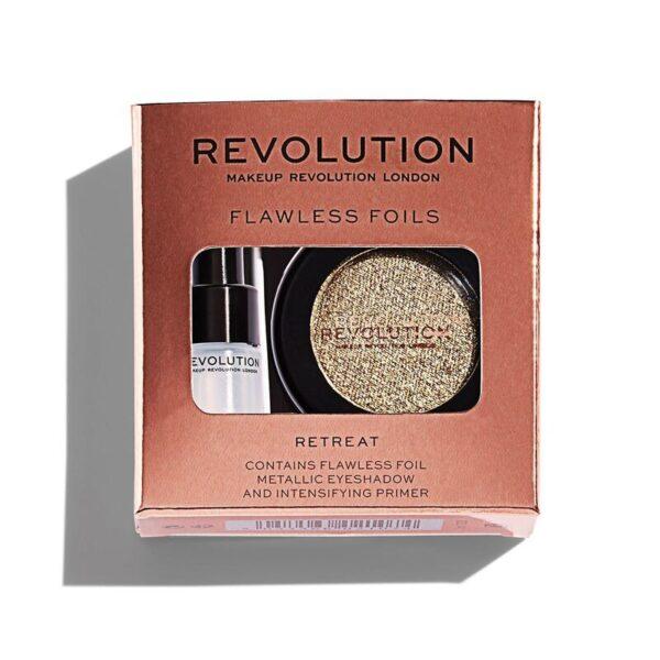 Σκιά ματιών Make up Revolution Flawless Foils 1.5g - Retreat
