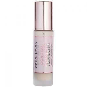 Makeup Revolution Radiance Foundation Conceal & Hydrate F1
