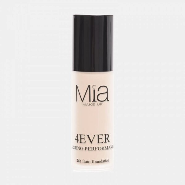 Mia 4 Ever Foundation 24h Lasting Performance - Porcelain 01