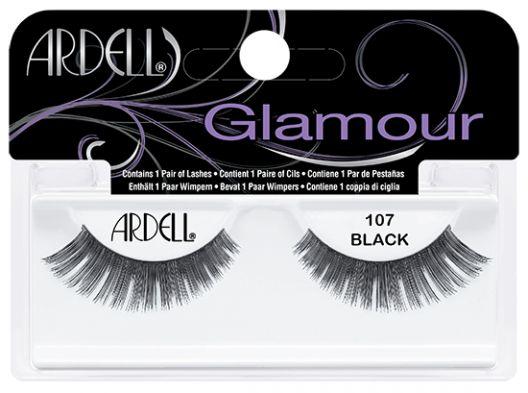 Ψεύτικες βλεφαρίδες Ardell Natural 107 Black