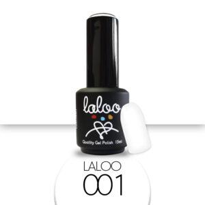 Ημιμόνιμο βερνίκι Laloo Cosmetics 15ml - N.01 Ασβέστης