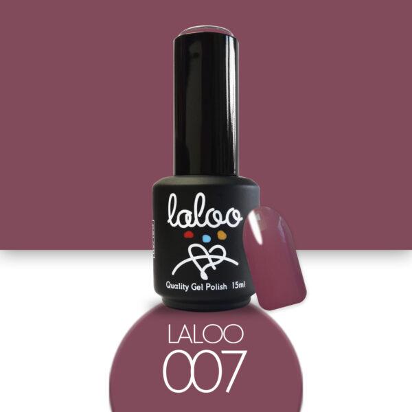 Ημιμόνιμο βερνίκι Laloo Cosmetics 15ml - N.07 Σάπιο μήλο