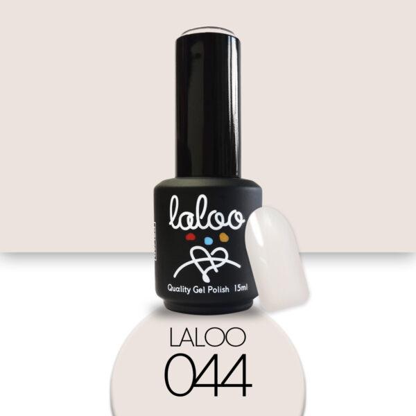 Ημιμόνιμο βερνίκι Laloo Cosmetics 15ml - N.44 Nude-κρεμ