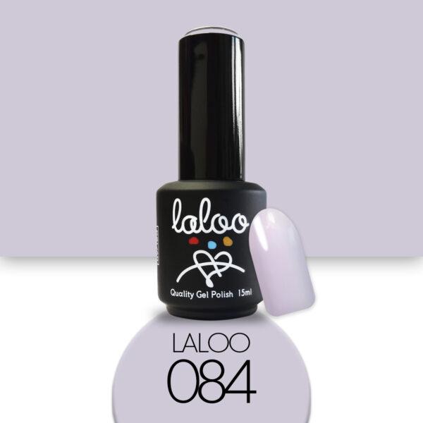 Ημιμόνιμο βερνίκι Laloo Cosmetics 15ml - N.84 Λιλά πάγου