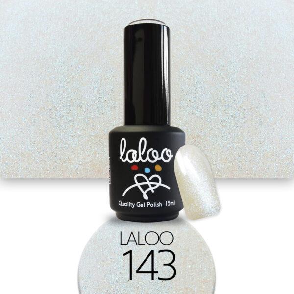 Ημιμόνιμο βερνίκι Laloo Cosmetics 15ml - N.143 Mermaid εφέ (πράσινο-μωβ ημιδιάφανο)