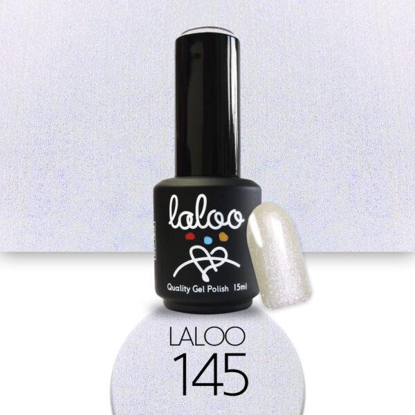 Ημιμόνιμο βερνίκι Laloo Cosmetics 15ml - N.145 Mermaid εφέ (γαλάζιο-μωβ ημιδιάφανο)