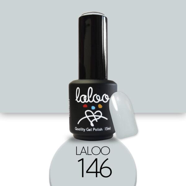 Ημιμόνιμο βερνίκι Laloo Cosmetics 15ml - N.146 Γκρι ανοιχτό του πάγου