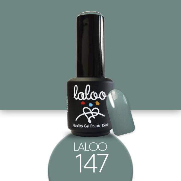 Ημιμόνιμο βερνίκι Laloo Cosmetics 15ml - N.147 Λαδί παστέλ