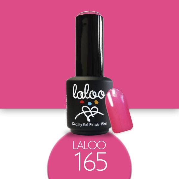 Ημιμόνιμο βερνίκι Laloo Cosmetics 15ml - N.165 Φούξια ανοιχτό