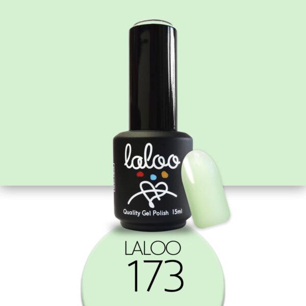 Ημιμόνιμο βερνίκι Laloo Cosmetics 15ml - N.173 Φυστικί