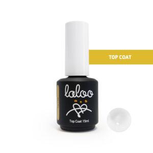 Top Coat για ημιμόνιμο βερνίκι Laloo Cosmetics 15ml